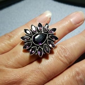 9.5 Amethyst ring